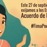 Más de 200 organizaciones de América Latina y el Caribe piden a sus Estados firmar el Acuerdo de Escazú
