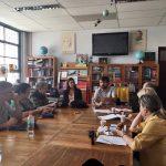 Reunión con alcalde Valparaíso Jorge Sharp